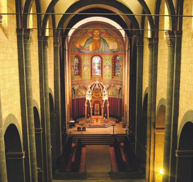 Nicht nur der Besuch der Kirche lohnt. Die Abtei bietet ein breites Programmangebot.