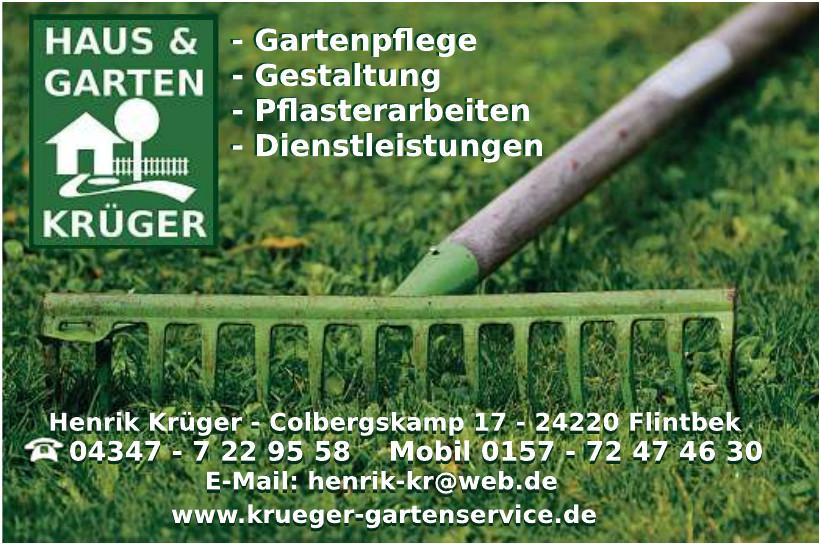 Haus & Garten Krüger