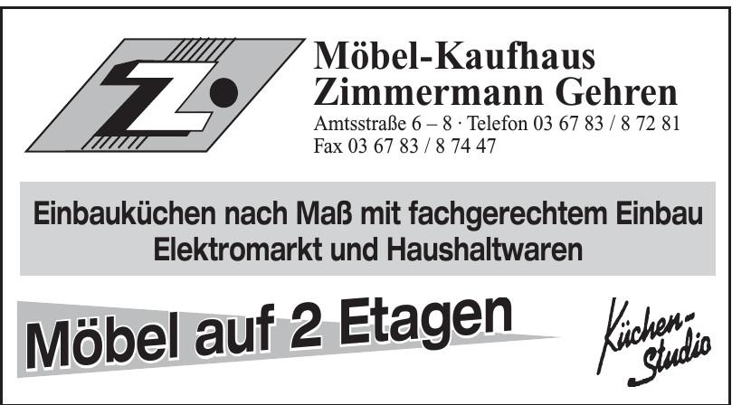Möbel-Kaufhaus Zimmermann Gehren