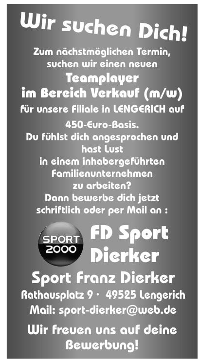 FD Sport Dierker