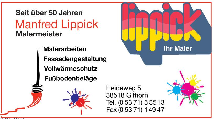 Manfred Lippick Malermeister