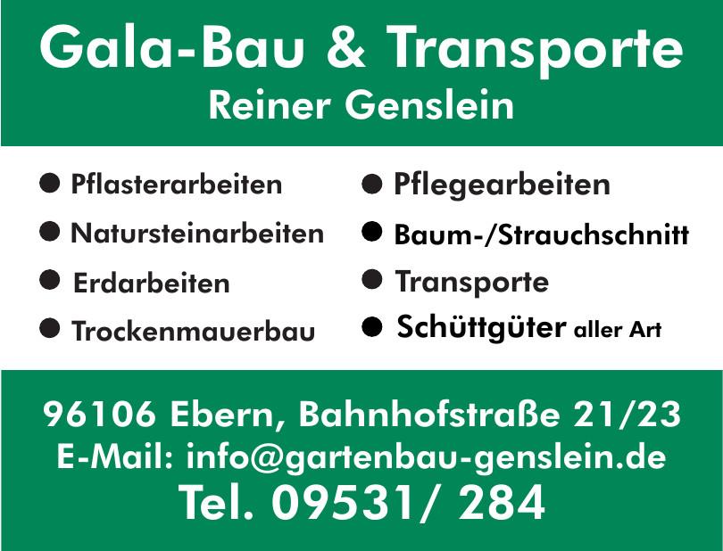 Gala-Bau & Transporte Reiner Genslein