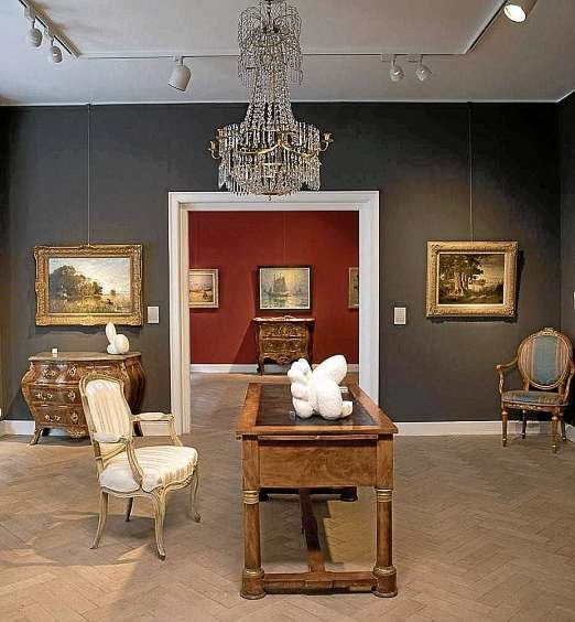 Kunst und Antiquitäten vom Mittelalter bis zur klassischen Moderne: Galerie von Negelein.FOTO: HFR