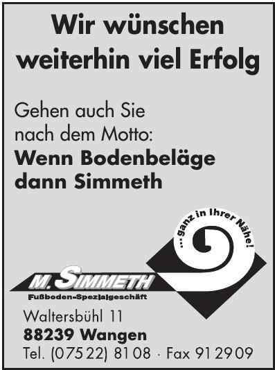 M.Simmeth