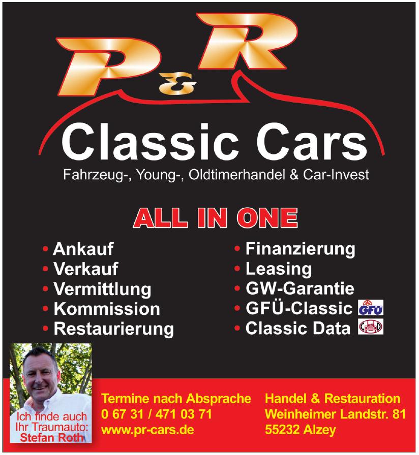 P & R Classic Cars