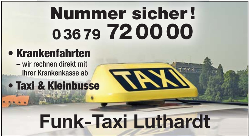 Funk-Taxi Luthardt
