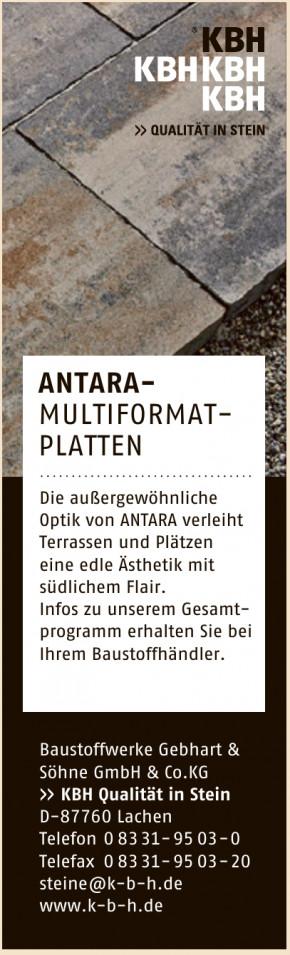 Baustoffwerke Gebhart & Söhne GmbH & Co. KG