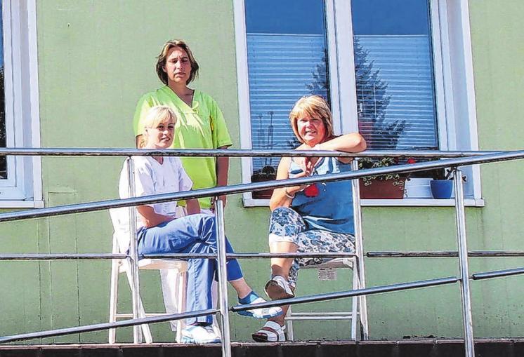 In den besten Händen sind alle Patienten in Wittstock bei der ipw Intensivpflege GmbH. Foto: MÄRKER