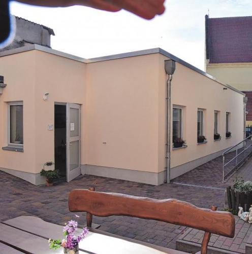 Die neue Begegnungsstätte pro Seniorenpflege auf dem Hof Kirchstraße 1. Foto: Inez Bandoly