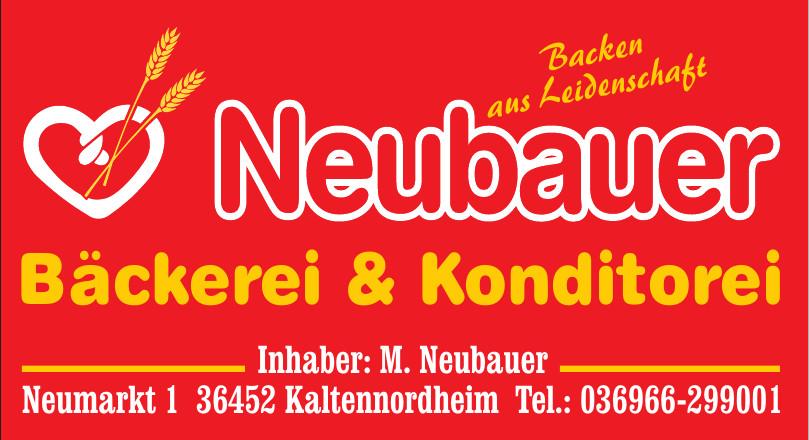 Neubauer Bäckerei & Konditorei