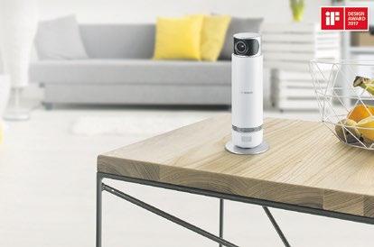 Die Bosch Smart Home 360° Innenkamera achtet sehr auf die Privatsphäre. Zudem kann mit ihr, unter anderem, jederzeit in alle Winkel eines Raumes geblickt werden