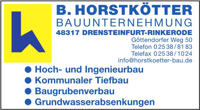 B. Horstkötter Nauunternehmung