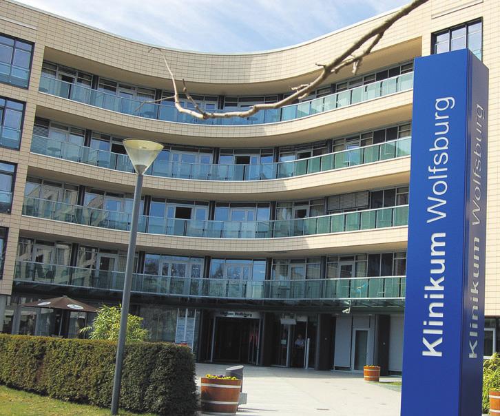 Klinikum Wolfsburg. Foto: Archiv