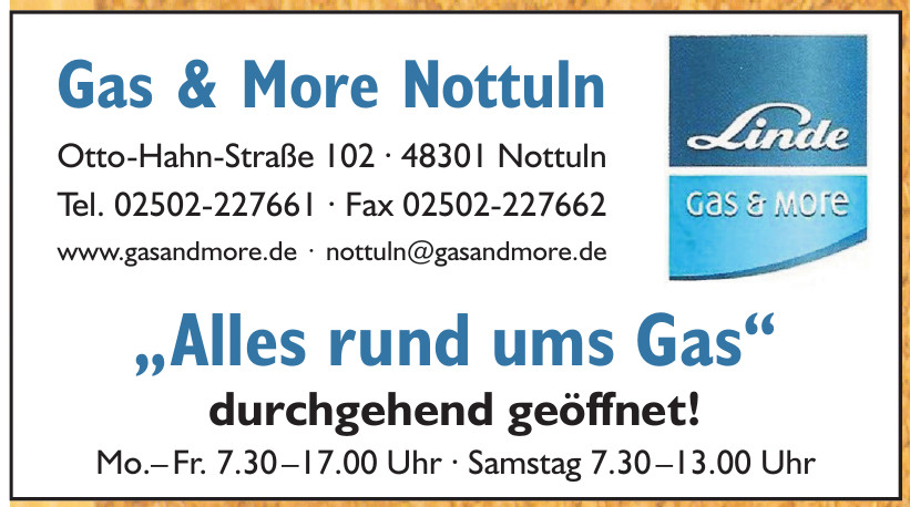 Gas & More Nottuln