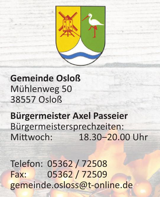 Gemeinde Osloß