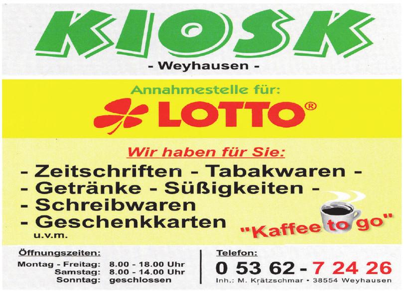 Kiosk Weyausen