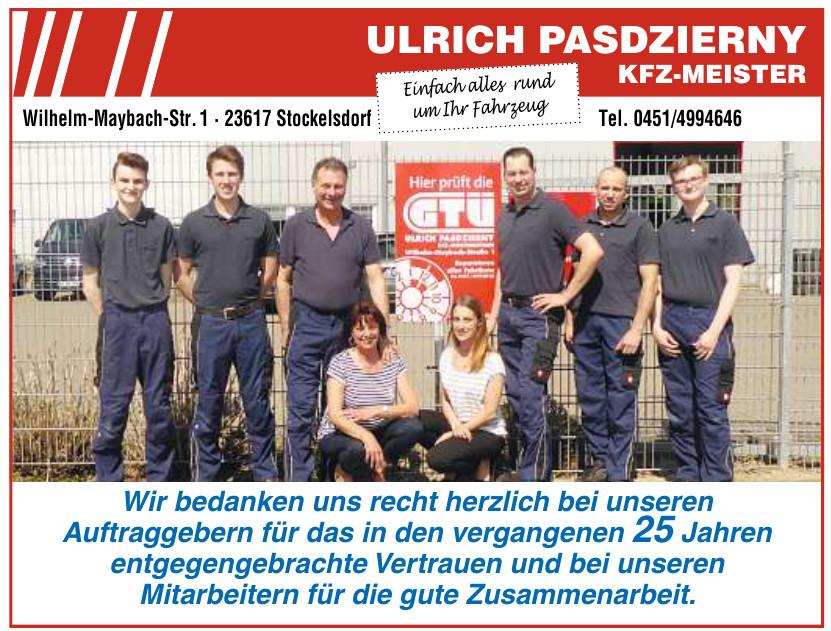 Ulrich Pasdzierny – Kfz.-Meister
