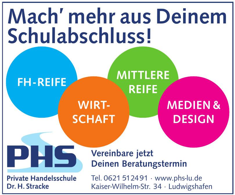 PHS Privat Handelsschule Dr. H. Stracke