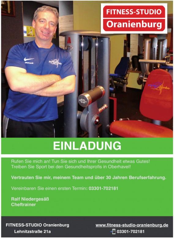 Fitness Studio Oranienburg