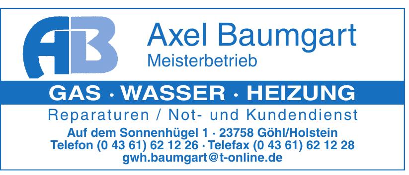 Axel Baumgart
