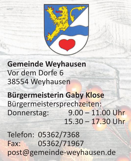 Gemeinde Weyhausen