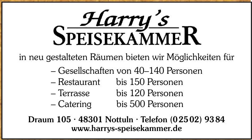 Harry's Speisekammer