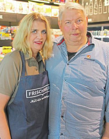 Das Pächterpaar: Yvonne und Peter Kremer.