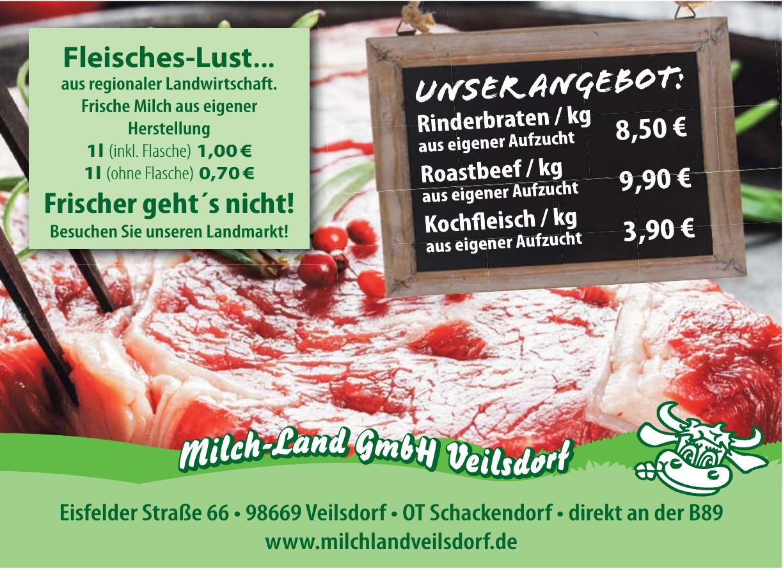 Milch-Land GmbH Veilsdorf