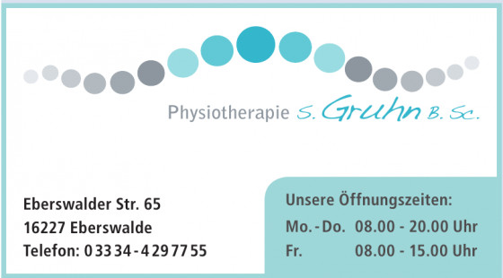 Physiotherapie S. Gruhn B. Sc.