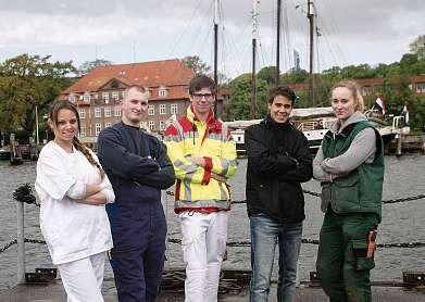 Bei der Stadt Kiel gibt es Ausbildungsangebote für jeden Schulabschluss. FOTO: LANDESHAUPTSTADT KIEL