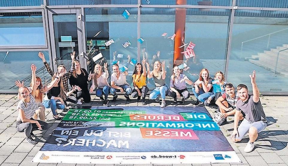 In Hildburghausen findet der Auftakt der Berufsinformationsmessen der IHK Südthüringen 2018 statt. Foto: IHK