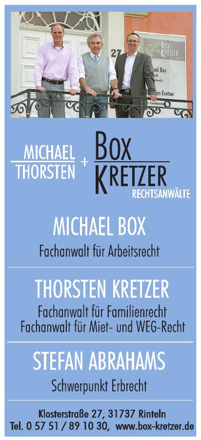 Michael Thorsten + Box Kretzer Rechtsanwälte