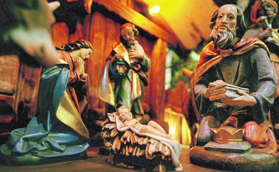 Die Idee von der Futterkrippe als Geburtsort Jesu lässt sich schon im Frühchristentum nachweisen.