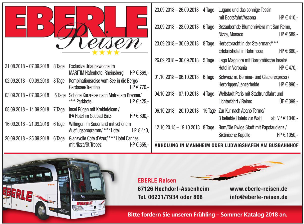 Eberle Reisen