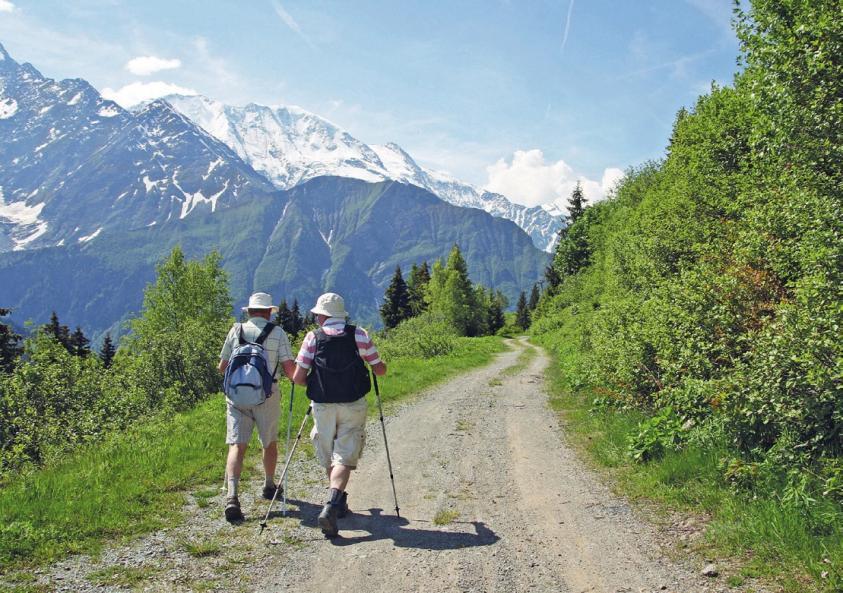 Bis heute ist Köther ein passionierter Wandersmann.