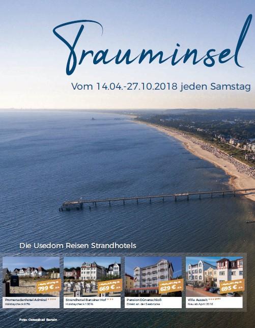 Usedom Reisen Strandhotels - Trauminsel Usedom