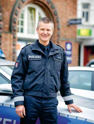 Chef der berühmtesten Polizeiwache Deutschlands: Ansgar Hagen, 50, leitet die Davidwache seit April 2017