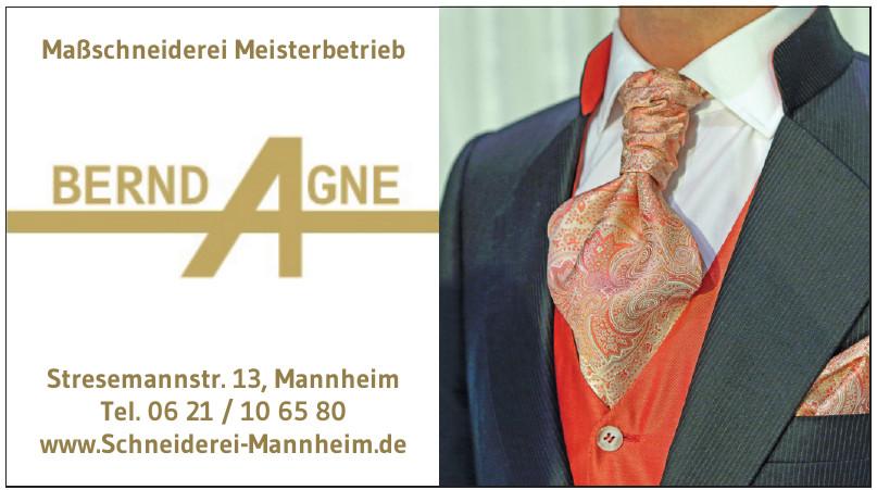 Maßschneiderei Meisterbetrieb Bernd Agne