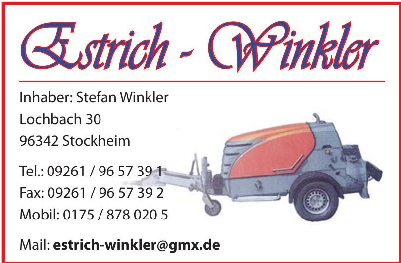 Estrich - Winkler