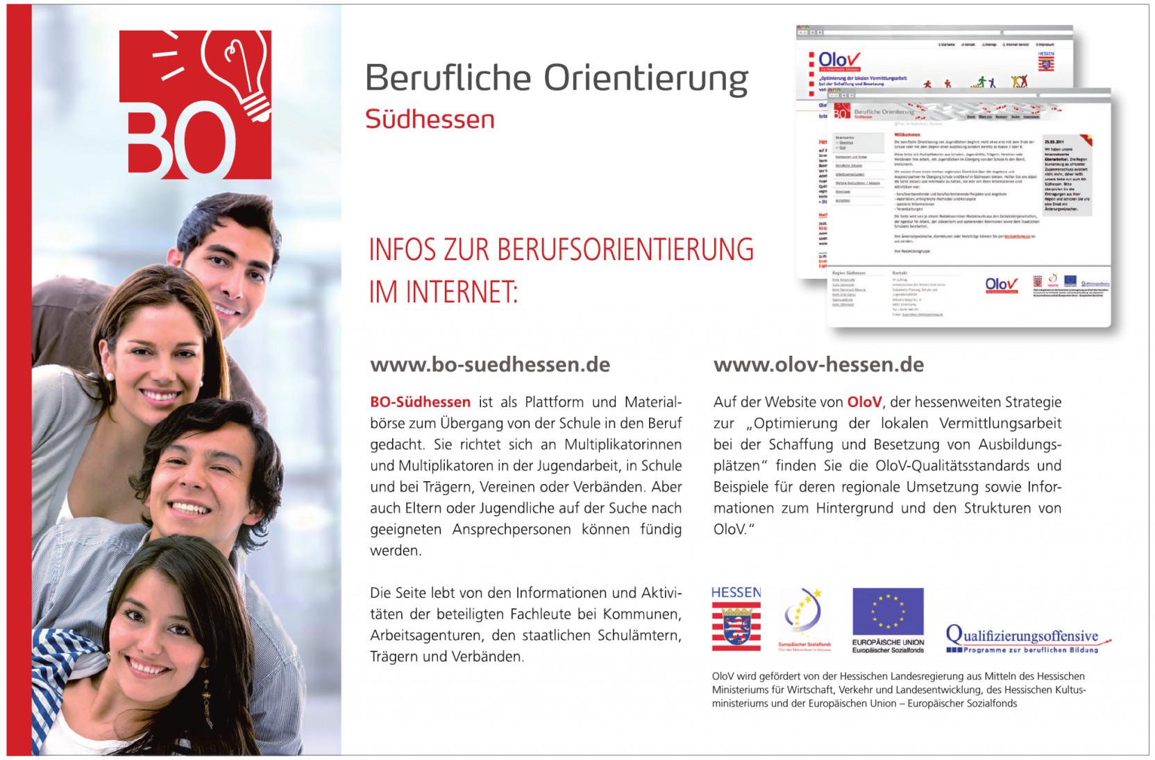 Berufliche Orientierung Südhessen
