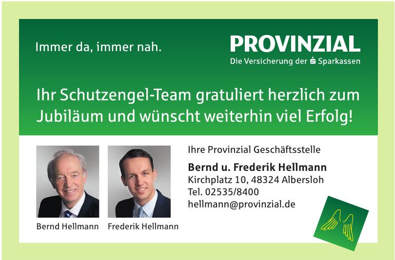 Provinzial Bernd u. Frederik Hellmann