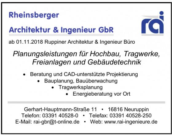Rheinsberger Architektur & Ingenieur GbR