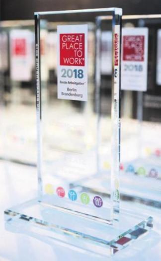 Preis für Projektron: Der Berliner Software- Entwickler und IT-Berater ist bereits zum fünften Mal beim Wettbewerb erfolgreich.