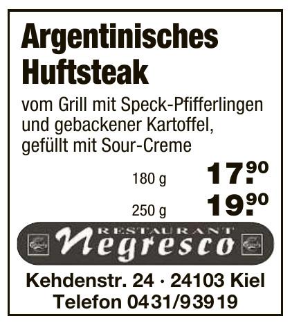 Restaurant Negresco