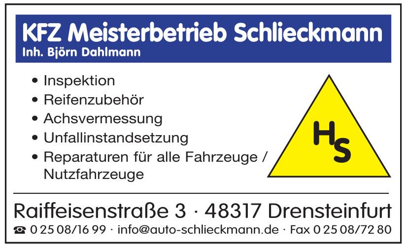 KFZ Meisterbetrieb Schlieckmann