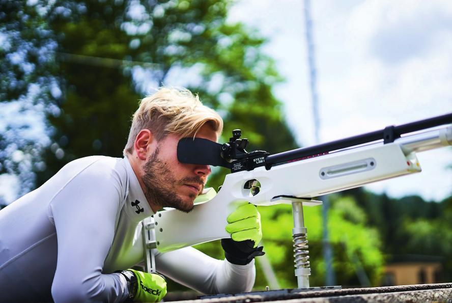 Bei den Paralympics ist Steffen Lehmker ein Shootingstar – er fing erst mit Mitte zwanzig an, für die olympischen Wettkämpfe zu trainieren. Sein Erfolg in Pyeongchang spornte ihn an, sich täglich fit zu machen für olympisches Gold 2022 in China. Foto: Steffen Lehmker