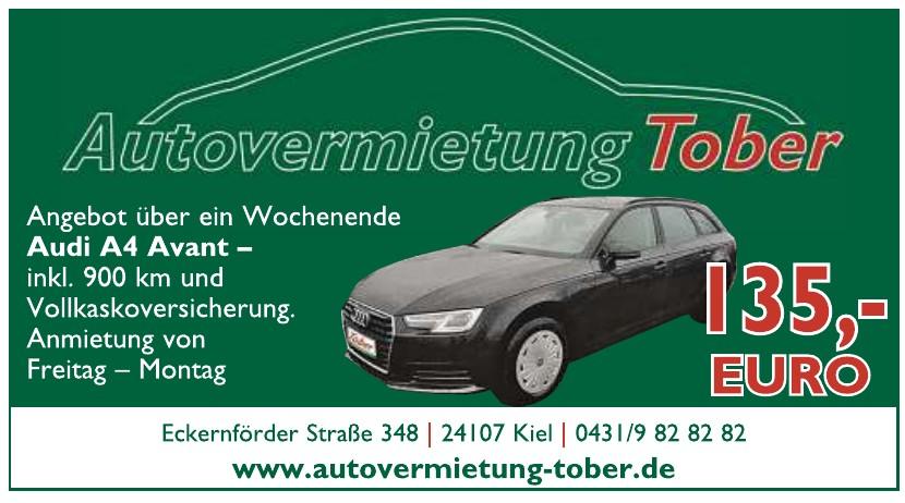 Autovermietung Tober