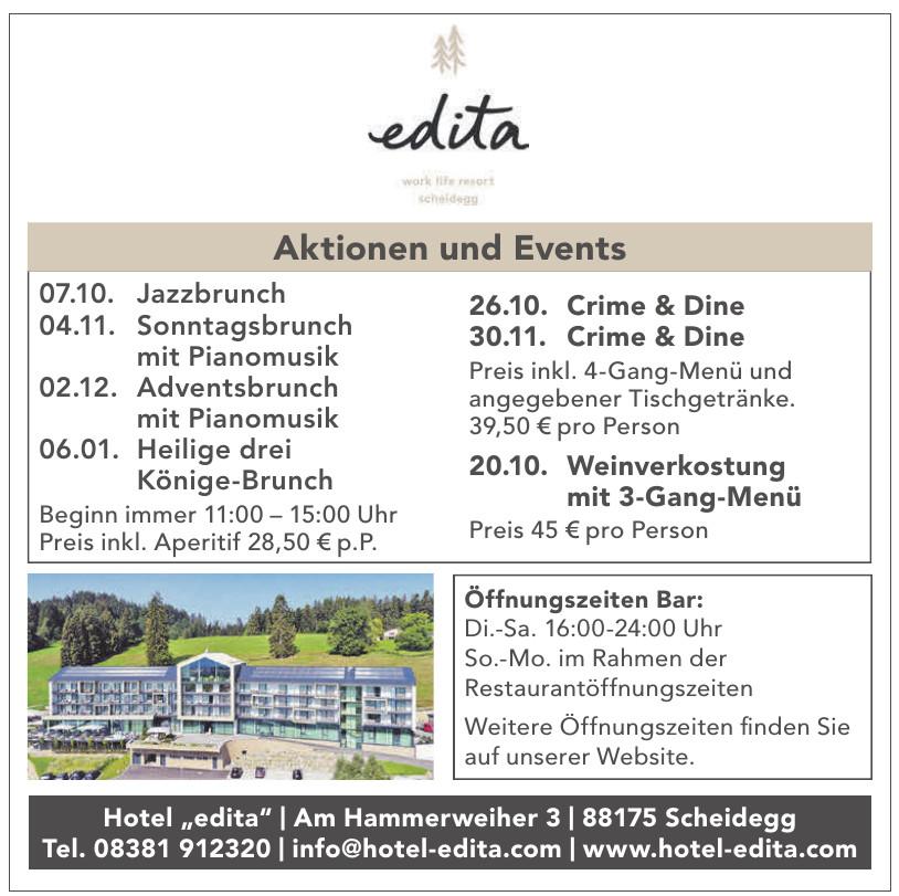 """Hotel """"edita"""""""
