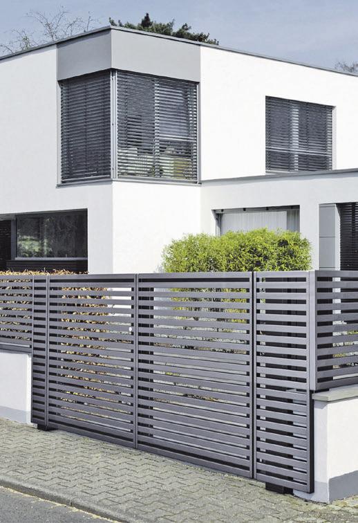 Aluminium-Zäune verbinden Langlebigkeit und Robustheit mit einer ansprechenden Optik. Foto: djd/GUARDI GmbH