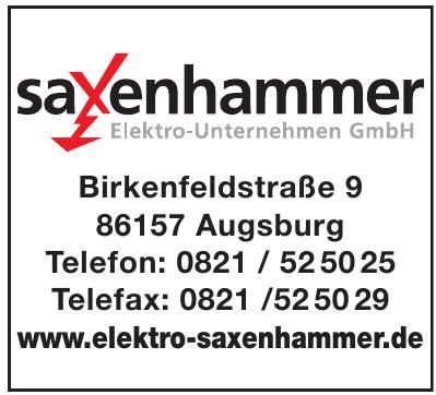 Saxenhammer Elektro-Unternehmen GmbH